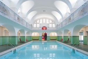 Image of  Stadtbad Gotha among the top swimming pools worldwide